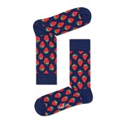 Happy Socks 1pack sokken strawberry navy (STB01-6000)