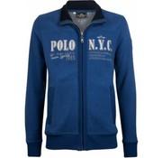 HV Society vest Melville blauw (0401102866 - 5038)