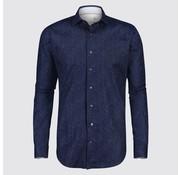 Jackett & Sons overhemd print navy (JS8213)