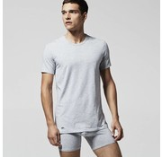 Lacoste ronde hals t-shirt 2-pack grijs (148321 - 202N)
