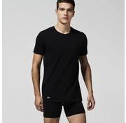Lacoste ronde hals t-shirt 2-pack zwart (148321 - 000N)