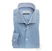 Ledub overhemd modern fit petrol blauw (0137134-160-160-180)