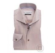 Ledub overhemd modern fit streep bruin (0137191-640-130-000)