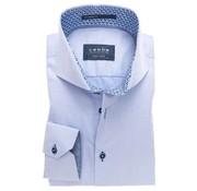 Ledub overhemd tailored fit blauw mouwlengte 7 (0137358-120-140-171)