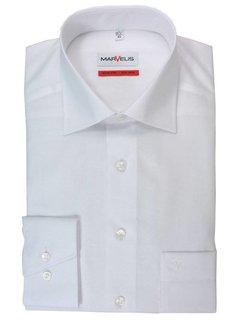 Marvelis strijkvrij overhemd comfort fit uni wit (7973-64-00)N