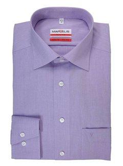 Marvelis Strijkvrij Overhemd Paars (4704-64-95)