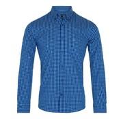 Mc Gregor overhemd Gil Gilles regular fit ruit blauw (1003007 - A004)