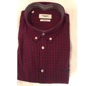 Mc Gregor overhemd Wilton Wash Rood (1000726 - B027)