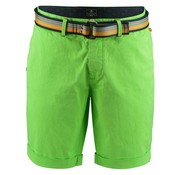 New Zealand Auckland chino short + riem whale neon groen (18DN600 - 468)
