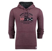 New Zealand Auckland hooded sweater Tauraroa bordeaux (18GN300 - 620)