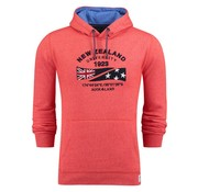 New Zealand Auckland hooded sweater Tauraroa flame orange (18GN300 - 634)