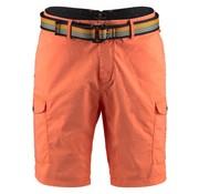 New Zealand Auckland korte broek + riem Misson bay neon orange (18DN601 - 638)