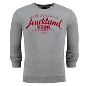 New Zealand Auckland sweater Jasper grijs mel. (18GN309 - 70)