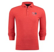 New Zealand Auckland sweater Marchant rood (18GN202 - 634)