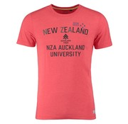 New Zealand Auckland t-shirt Barra spring rood (18CN704 - 595)