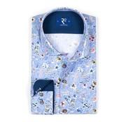 R2 Amsterdam overhemd print (102.WSP.121 - 018)