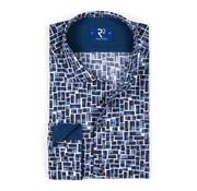 R2 Amsterdam overhemd print (102.WSP.131 - 010)