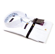 R2 Westbrook korte mouw overhemd wit (89.HBDSS.11 - 004)