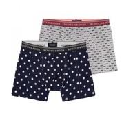 Scotch & Soda boxershort print 2 pack (145137 - 0219)