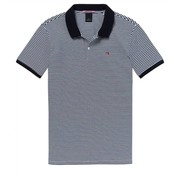 Scotch & Soda classic clean pique polo streep (145547 - 0221)