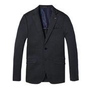 Scotch & Soda colbert classic knitted blazer navy (142352 - 0218)