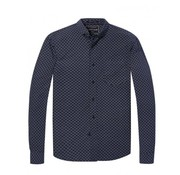 Scotch & Soda overhemd regular fit print navy (145399 - 0217)
