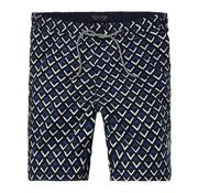 Scotch & Soda zwemshort grafische print blauw (142260 - 0219)