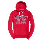 Superdry hooded sweater Applique Hoodie raspberry (M20032TR - FA9)