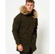 Superdry parka winterjas army (M50000YPF1 - 01E)