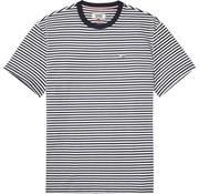 Tommy Hilfiger t-shirt regular fit gestreept (DM0DM04573 - 002)