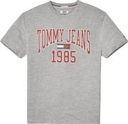 Tommy Hilfiger t-shirt regular fit grijs (DM0DM05129 - 038)