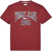 Tommy Hilfiger t-shirt regular fit rood  (DM0DM05129 - 602)