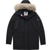Tommy Hilfiger winterjas zwart (DM0DM05016 - 078)