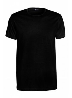 Alan Red Ronde Hals T-shirt Derby 1-pack Zwart (6672SP)