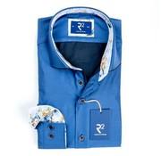 R2 Amsterdam overhemd blauw (100.WSP.16 - 014)