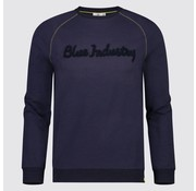 Blue Industry sweater navy (KBIW18 - M37)