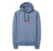 Gant hooded sweater blauw (276310 - 902)