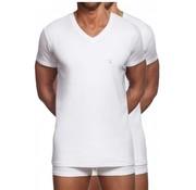 Gant v-hals t-shirt 2pack wit (2118 - 110)