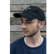 Haze & Finn cap logo star black (MC11-0915)