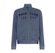 HV Society vest Kane blauw  melange (0401103070 - 5097)