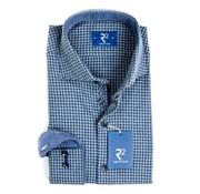 R2 Amsterdam overhemd blauw (95.WSP.36 - 014)