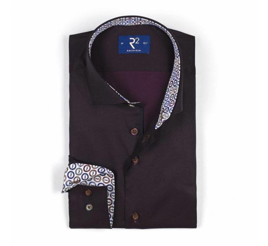 Bordeaux Overhemd.R2 Amsterdam Overhemd Bordeaux 103 Wsp 012 080 Nieuwnieuw Com