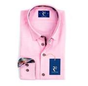 R2 Amsterdam overhemd roze (100.HBD.21 - 088)