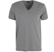 Alan Red V-hals T-shirt Vermont 1pack grijs (6671SP)