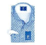 overhemd print mouwlengte 7 (100.WSP.XLS.41 - 014)