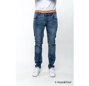 Haze & Finn denim sunrise regular slim Light wash blauw (MC-0502)