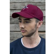 Haze & Finn cap logo Tawny Red (MC10-0915)