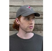 Haze & Finn cap logo Granite grey (MC10-0915)