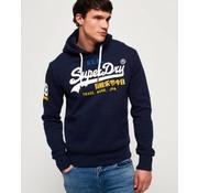Superdry hooded sweater navy (M20366IR - UJ1)