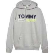 Tommy Hilfiger hooded sweater regular fit grey (DM0DM05539 - 038)
